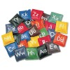 ALPHABET BEAN BAG SET, VINYL, ASSORTED COLORS, 26/SET
