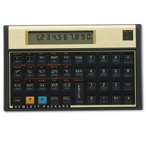 12C FINANCIAL CALCULATOR, 10-DIGIT LCD