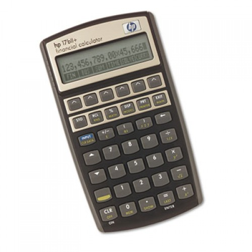 17bII Financial Calculator HEW17BIIPLUS Math Materials Office ...