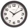 KENWICK WALL CLOCK, 13-1/2IN, BLACK