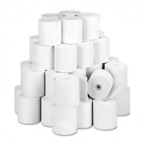 PAPER ROLLS, ONE-PLY TELLER WINDOW/FINANCIAL, 3